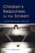 Boek Children s Responses to the Screen